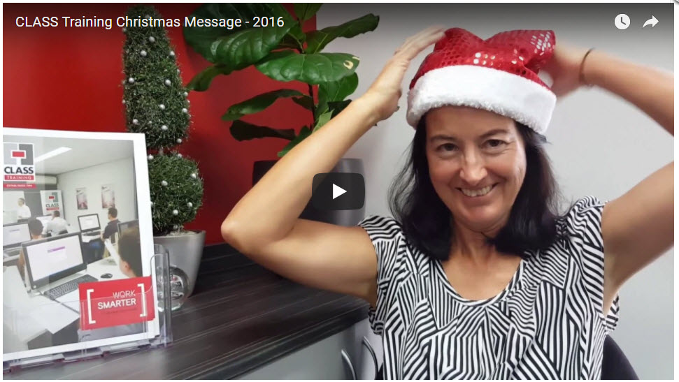 2016 Christmas Message