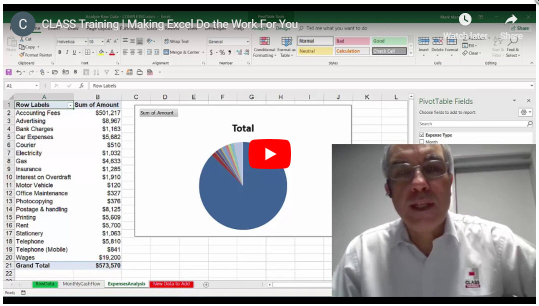 Make Excel Work