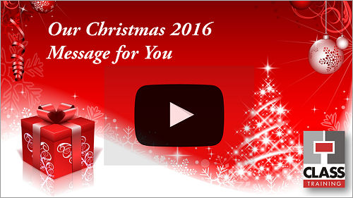 Our 2016 Christmas Message for you