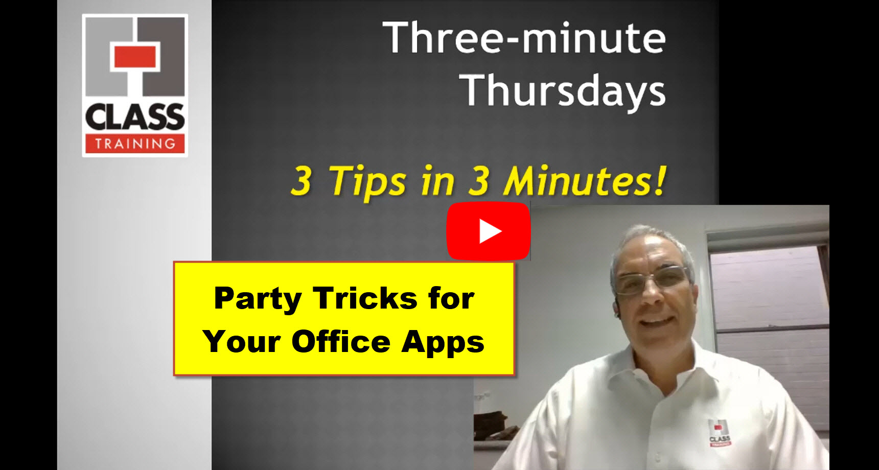3 Party Tricks
